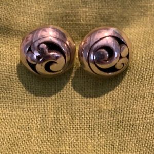 Brighton Silver Earrings, like new